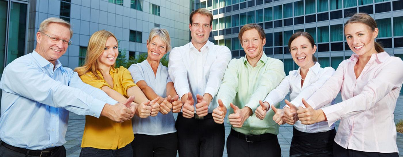 Das Team: Kooperationspartner und Netzwerke aus der freien Wirtschaft und des öffentlichen Dienstes